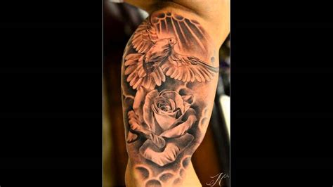 roses and doves tattoo 35 dove tattoos with roses