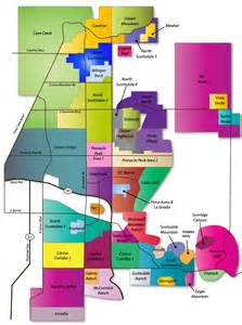 scottsdale real estate map of scottsdale