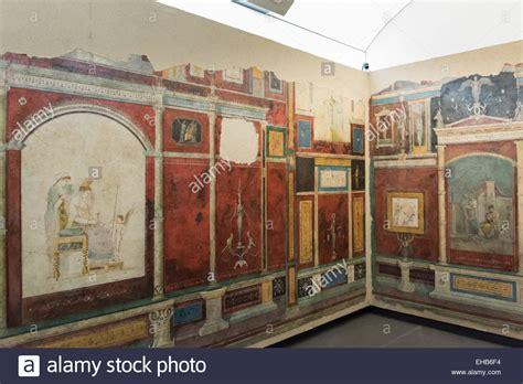 casa della farnesina rome italy reconstruction of frescoed bedroom villa