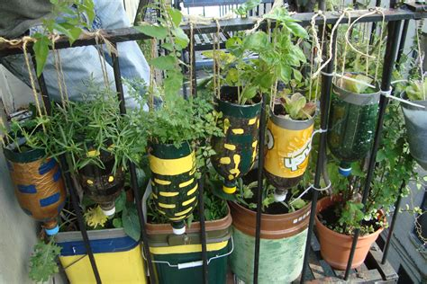 Gardening From Recycled Items Recycled Gardening Ideas