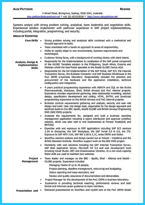 Business Analyst Resume Summary by Best Secrets About Creating Effective Business Systems