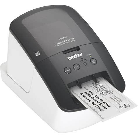brother ql 710w high speed label printer w wireless ql