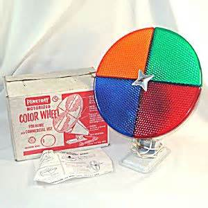 penetray rotating lighted christmas tree color wheel in