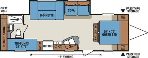 triple bunk travel trailer floor plans 1000 ideas about travel trailer floor plans on pinterest