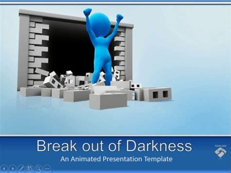 homey inspiration free animated images for powerpoint 3d animated video for powerpoint breaking the wall to get