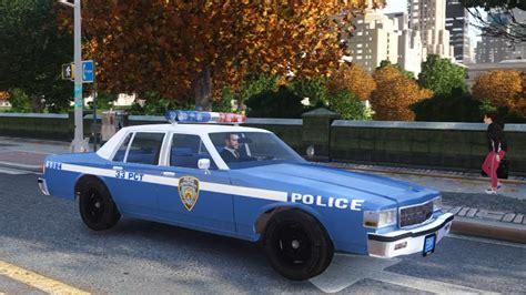 Neues Auto Kennzeichen Behalten by 1985 Chevrolet Caprice Nypd Gta Iv