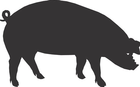 pig clipart black and white pig clip images free