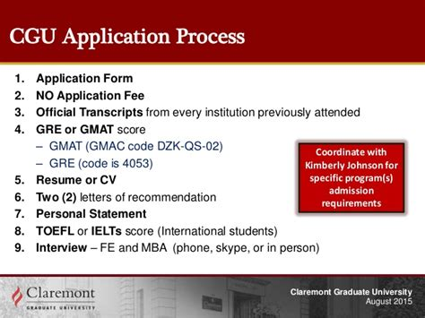 Mba Healthcare Management No Gre by Claremont Graduate Edu Co Presentation V3 08 19 15