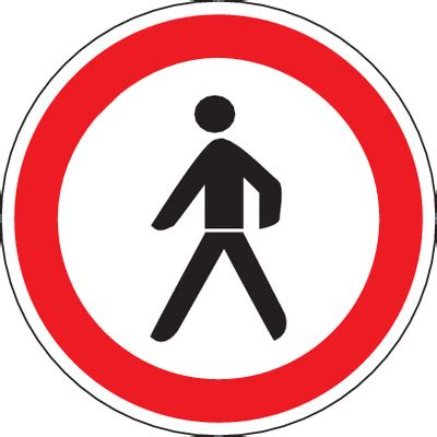 Baustellenschild Vz by Verkehrsschilder Quot Verbot F 252 R Fu 223 G 228 Nger Quot Stvo