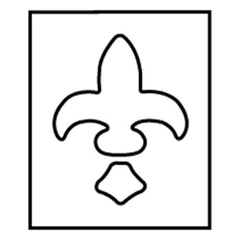 printable router templates fleur de lis printable stencil clipart best