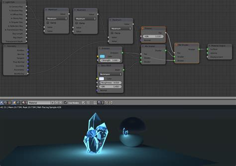 blender lighting tutorial cycles cycles making a crystal material in blender blender