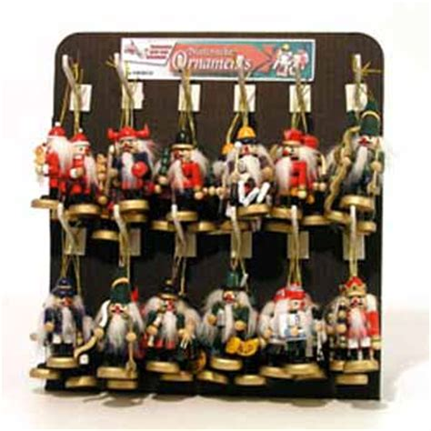 cheap nutcrackers for sale wholesale mini nutcracker ornaments sku 360938 dollardays