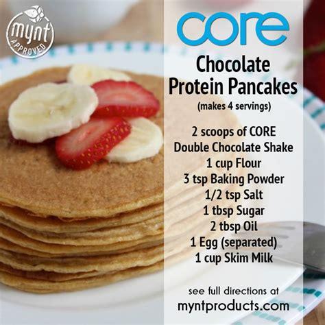 9 protein pancake recipes chocolate protein pancakes