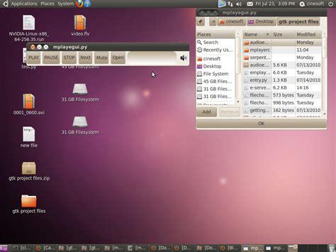 tutorial mencoder ubuntu mplayer gtk front end code