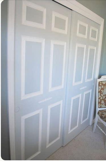 Painting Sliding Closet Doors Painting Dated Closet Doors