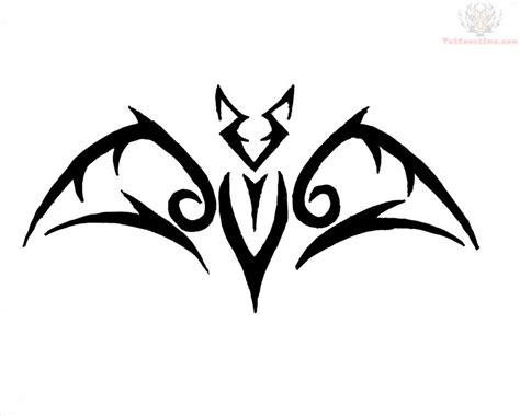 tribal bat tattoos bat tattoos on bats bat and batman