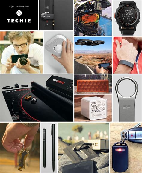 holiday gift guide the techie cool material