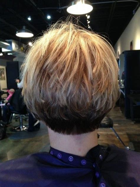 stacked hairstyles thin stacked bob for fine hair short hairstyles pinterest