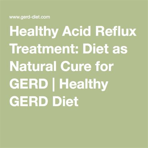 Can Detoxing Cause Refulx by Healthy Acid Reflux Treatment Diet As Cure For
