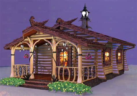 bath cabin 3d model bath log cabin id 11259