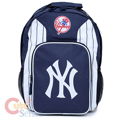Ny Backpack ny yankees school backpack mlb logo bag large 18 quot ebay