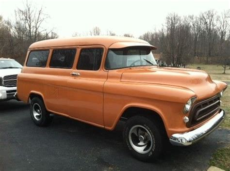 1957 Chevy Suburban By purchase new 1957 chevy suburban in hughesville maryland