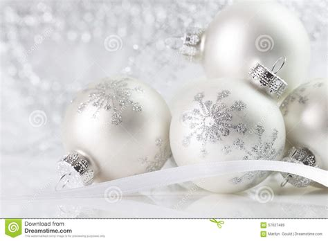 white ornaments white ornaments stock image image of ornaments