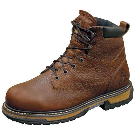 waterproof mens work boots s rocky 174 6 quot iron clad 5696 waterproof work boots