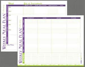 Meal Prep Template by Printable Meal Prep Templates And Meal Planning Tips