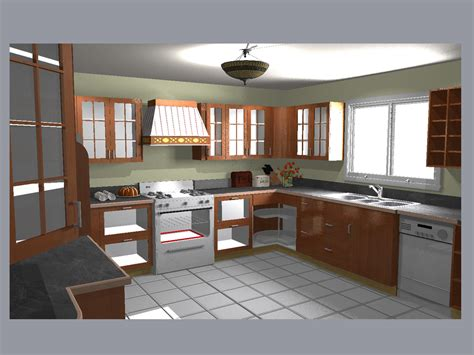 20 20 kitchen design yulia degtiar 3d 2d graphic designer