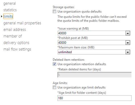 Office 365 Limits Folder 2gb Limit In Office365 David Vielmetter