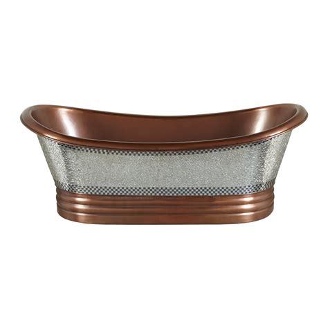 copper bathtubs glass mosaic copper bathtub coppersmith 174 creations