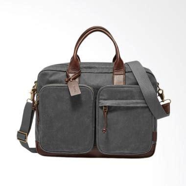 Selempang Zipper jual fossil defender top zip workbag tas selempang