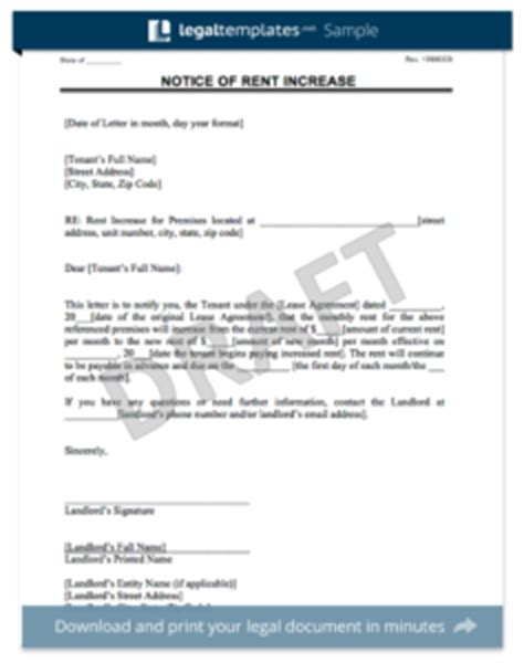 Washington State Rent Increase Letter Lease Agreement Create A Free Rental Agreement Form