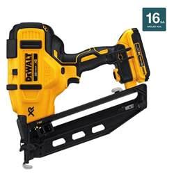 Window Blinds Kitchen - dewalt 20 volt max 16 gauge cordless angled finish nailer kit dcn660d1 the home depot