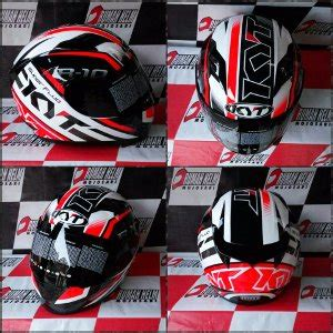 Kyt R10 Fluo 2 jual helm kyt r10 fluo edition whitered fluo di