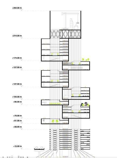 section shift the shift architecture school tower hkz mena design