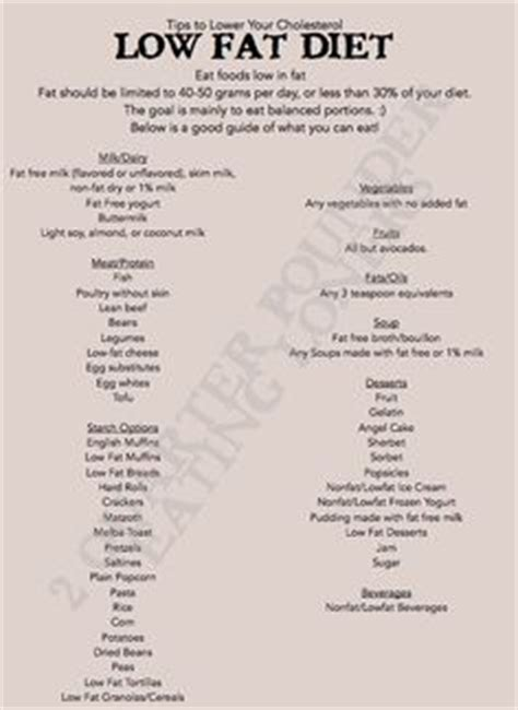 printable diet plan to lower cholesterol 1000 images about colesterol on pinterest how to lower