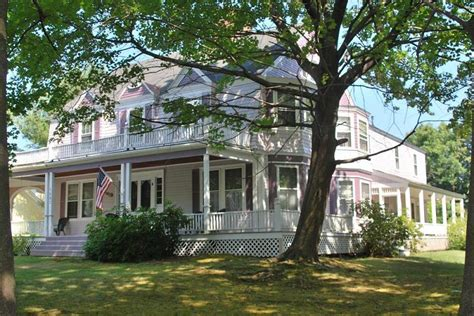 wrap around porch houses for sale 1872 in laconia new hshire oldhouses
