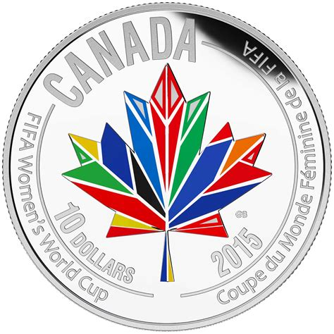 Fifa S World Cup Canada 2015 20 Silver Coin mint unveils coins for fifa s world cup 2015 canadian coin news