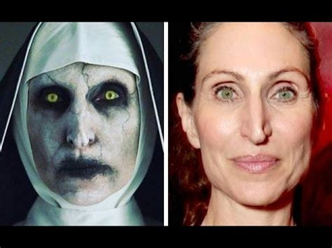 the nun cast actress 20 most impressive actor makeup transformations youtube