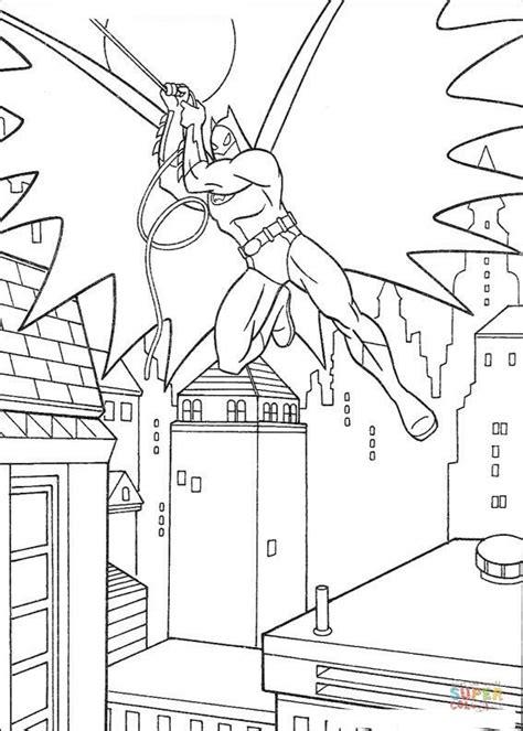 batman action coloring pages batman in action coloring page free printable coloring pages