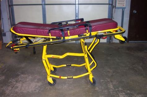 rugged stretcher used stryker 6091 rugged ez pro 2 stretcher for sale dotmed listing 922431