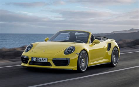 Porsche 911 Turbo S Cabriolet by 2016 Porsche 911 Turbo S Cabriolet Wallpapers Hd