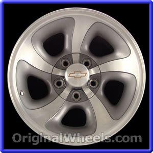 2003 Trailblazer Factory Tires Oem 2003 Chevrolet Mini Blazer Rims Used Factory Wheels