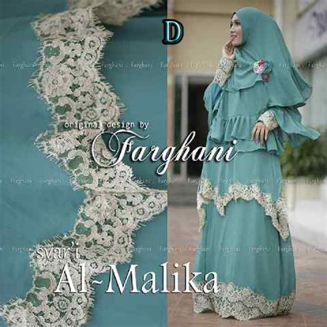 Malika By Hawwa Aiwa trend busana uslim wanita syar i gaun pesta muslim pusat