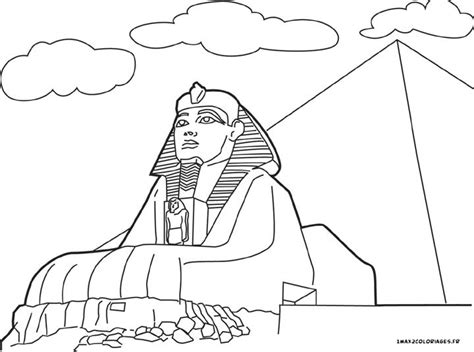 egypt sphinx coloring pages egypt pyramid coloring pages