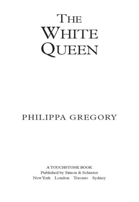 The White Queen (Philippa Gregory) » p.1 » Global Archive