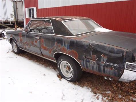 rusty car driving buy used 1965 gto 2 door hardtop orig rusty car