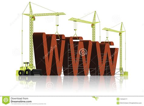 house construction royalty free stock images image 2957369 website building www under construction royalty free stock